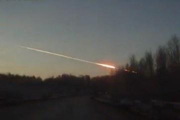 Meteorito en Rusia deja al menos 1.000 heridos