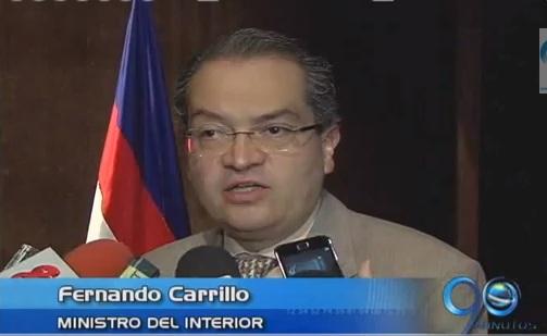 Ministro del Interior habla en Cali sobre el proceso de paz