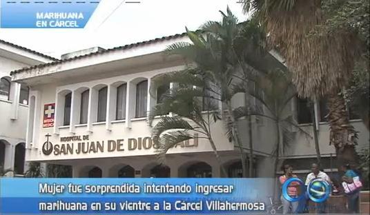 Descubren joven que pretendía ingresar marihuana a Villahermosa