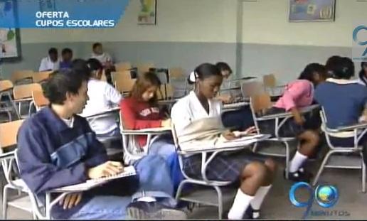 La oferta educativa de Cali asciende a 16.000 cupos
