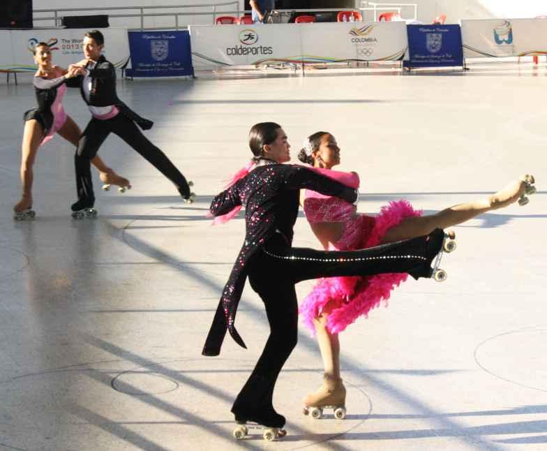En Cali se vivió la elegancia del Nacional de Interclubes de Patinaje  Artístico