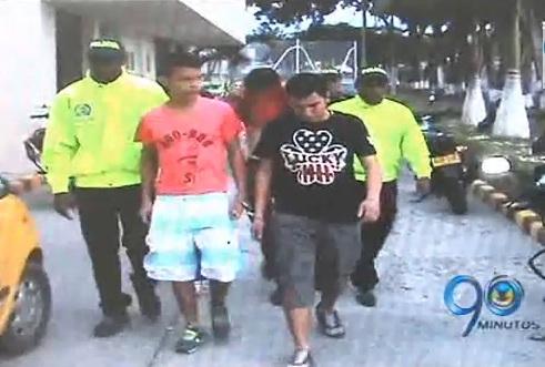 Capturan en Tuluá a cuatro peligrosos delincuentes