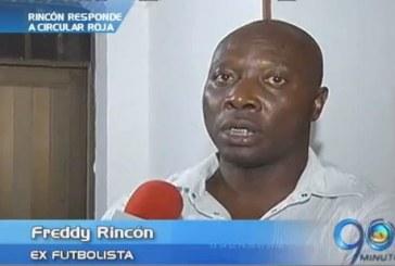 Freddy Rincón responde sobre acusación de Interpol