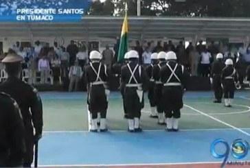 Presidente Santos en Tumaco, Nariño