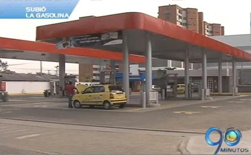 El precio de la gasolina volvió a subir