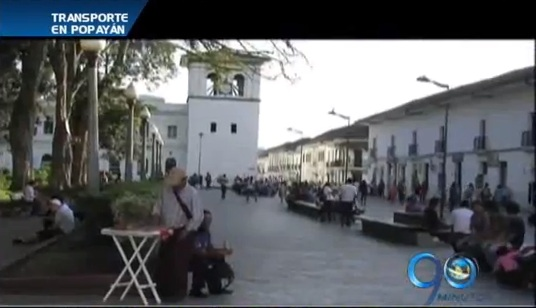 Autoridades de Popayán estudian sistema de transporte masivo
