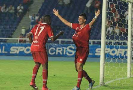 América de Cali puso a bailar samba al Barranquilla F.C.