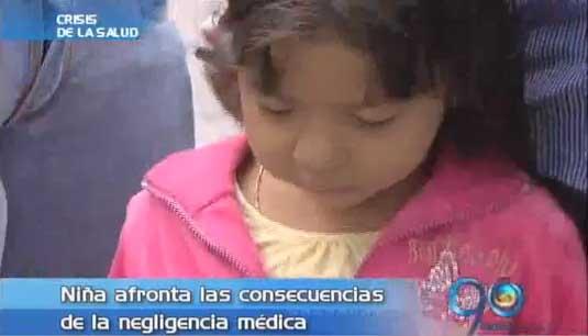 Clínica se pronuncia sobre caso de niña con tuberculosis