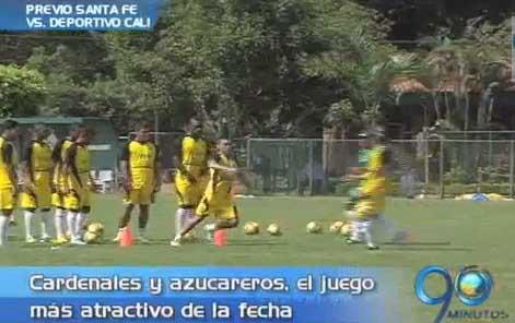 Deportivo Cali enfrenta a Santa Fe, el domingo en Bogotá