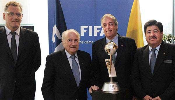 Colombia presentó candidatura para ser sede del Mundial de Futsal 2016