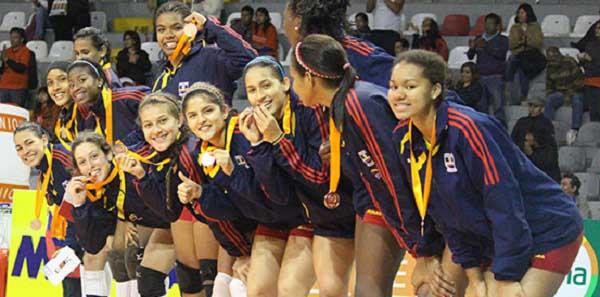 Colombia se quedó con el bronce en el Panamericano Sub-20 de vóley