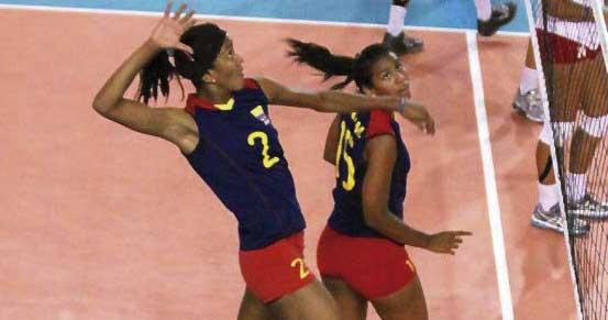 Ni la derrota frena a Colombia en Copa Panamericana de Voleibol