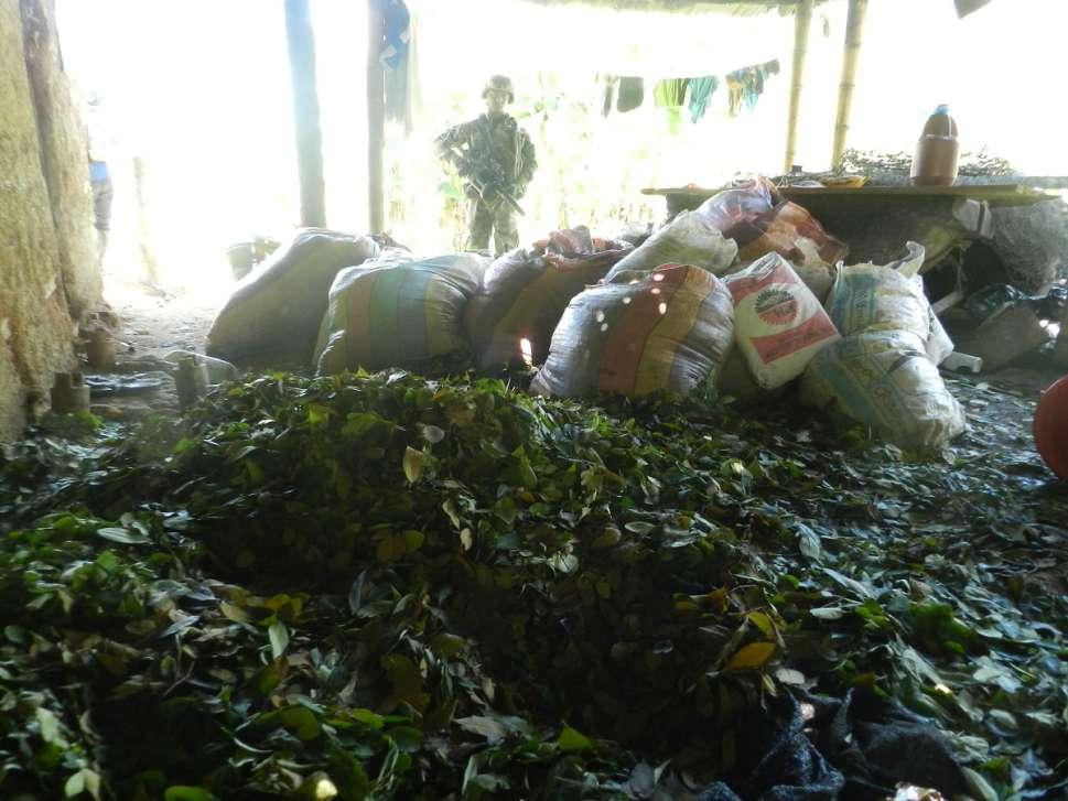 Ofensiva contra el narcotrafico en el Cauca