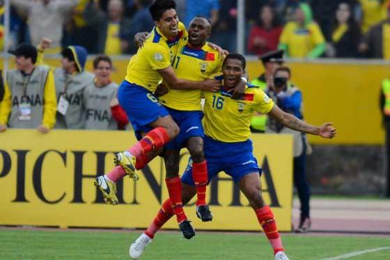 Resultados de la jornada 12 de las Eliminatorias a Brasil