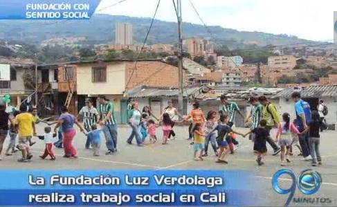 Fundación 'Luz Verdolaga' realiza trabajo social en la ciudad Cali