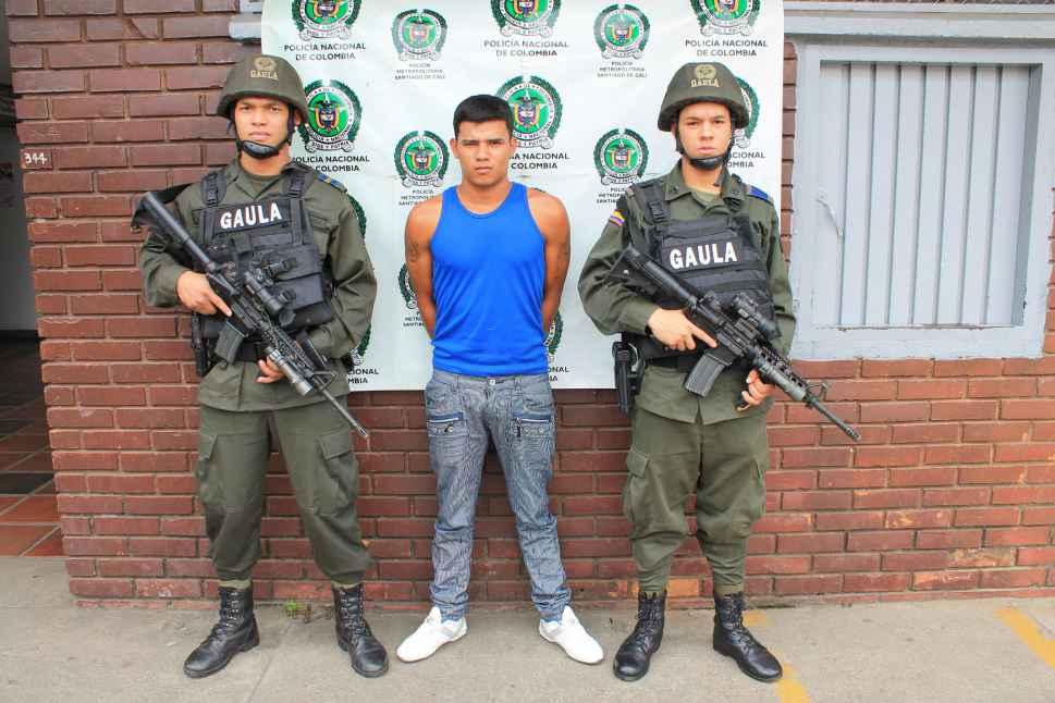 Policía capturó un extorsionista de 18 años al oriente de Cali