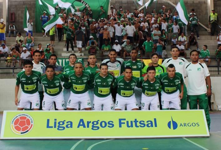 Deportivo Cali logró su primera victoria en la liga de futsal