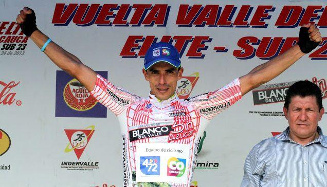 Juan Pablo Villegas, nuevo campeón de la Vuelta al Valle