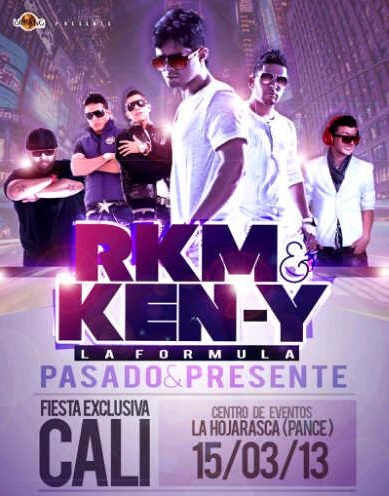 RKM & KEN-Y llega con su reggaeton a la capital del Valle