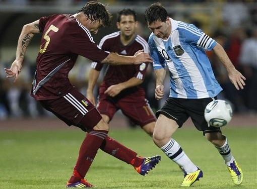 Argentina goleó a Venezuela y está a un pie de la clasificación al Mundial 2014