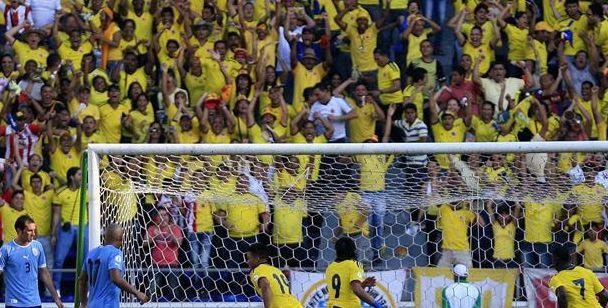 Colombia encabeza el ranking de la mejor hinchada en Eliminatorias
