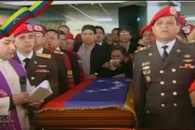 Venezuela llora y vive el duelo por la partida de Hugo Chávez