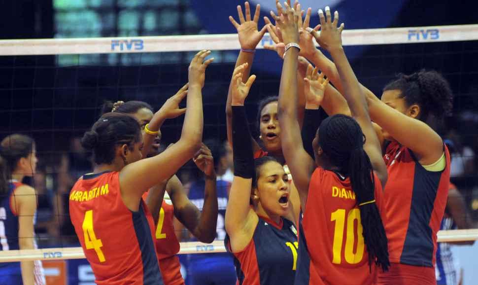 Histórica victoria de Colombia ante Cuba en Panamericano de voleibol