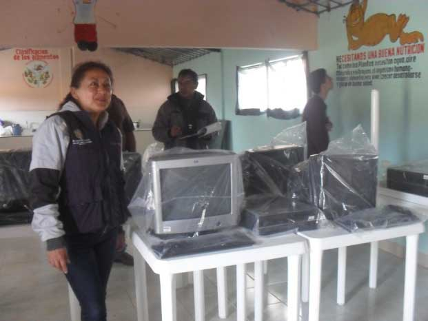 Entregarán 715 computadores a escuelas del Cauca