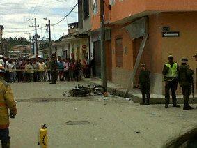 Explosión dejó diez heridos en Timbío, Cauca