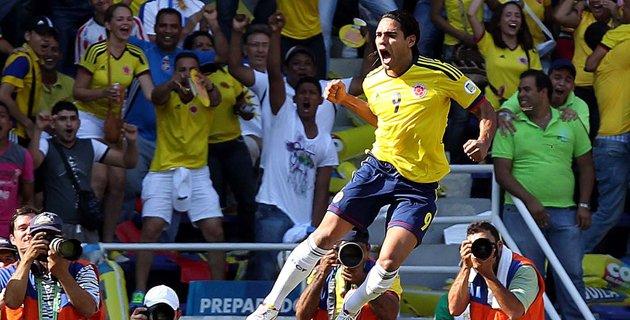 Colombia goleó a Bolivia 5-0: El mundial Brasil 2014 está cerca