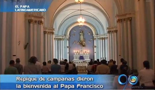 Caleños recibieron con beneplácito la elección del Papa Francisco