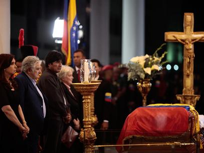 Presidentes de 33 países dan el último adiós a Hugo Chávez