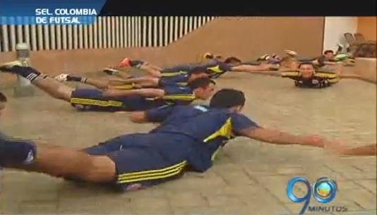 Selección Colombia de Futsal viaja a Brasil