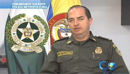 General Castañeda se quedará al frente de la Policía en Cali