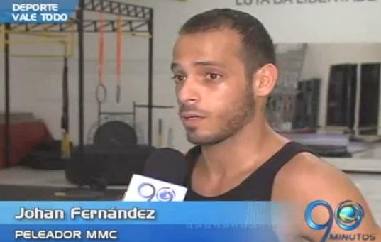 El caleño Johan Fernández se abre paso en el 'Vale Todo'