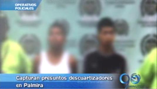 Capturados en Palmira dos menores acusados de macabro homicidio