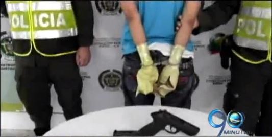 Mitad de menores capturados son por porte ilegal de armas y homicidio