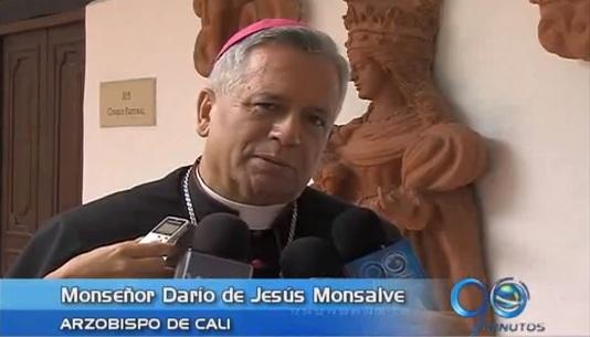 Arzobispo de Cali entrega mensaje de Semana Santa