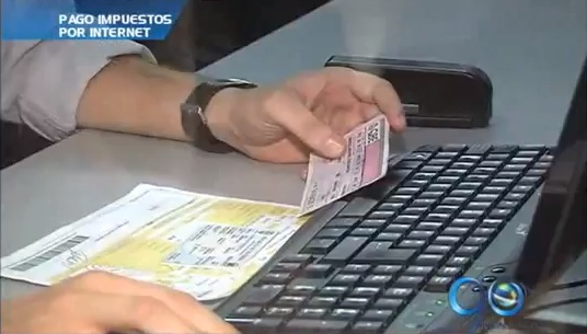 Impuesto automotor podrá pagarse por internet