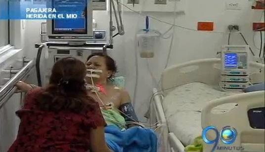 En el olvido mujer herida en el MÍO, hoy en el HUV
