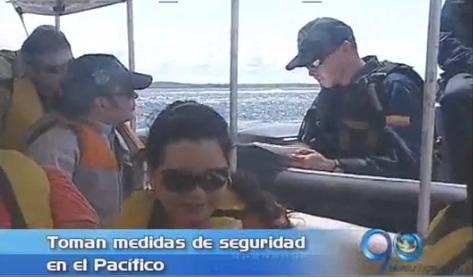 Armada Nacional toma medidas de seguridad en el Pacífico