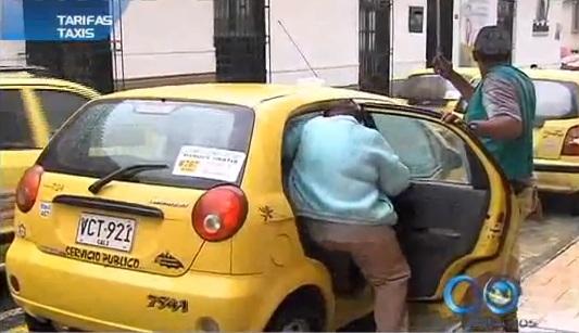Alcaldía estableció nuevas tarifas para el servicio de taxi