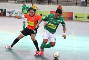 En futsal, Deportivo Cali y Lyon dividieron honores en Yumbo