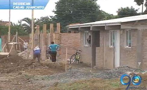 Avanza proyecto de reubicación de casas en el puente de Juanchito