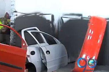 Golpe a desguazadores de vehículos en un vivienda al sur de Cali