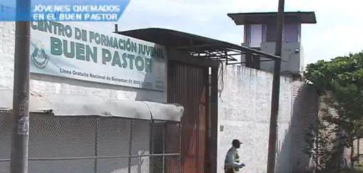 Prohiben visitas a jóvenes quemados del Buen Pastor