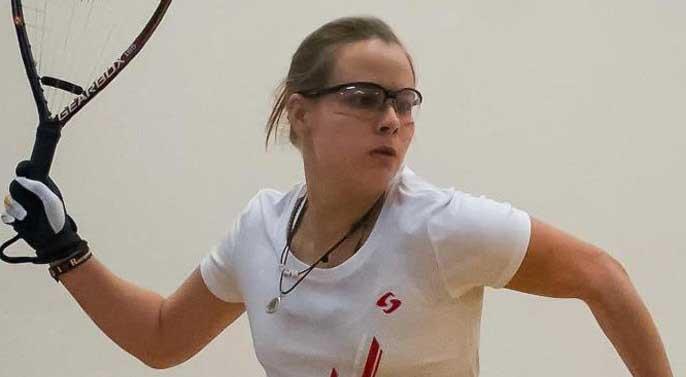 La caleña Cristina Amaya, campeona del Abierto de Texas de Racquetball