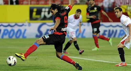 Falcao García llegó a su gol 25 con Atl. Madrid y superó su registró de 2012