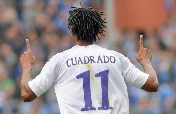 Juan Guillermo Cuadrado convirtió de nuevo un golazo en Italia