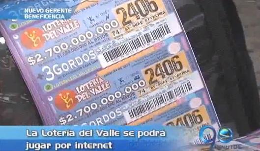 Lotería del Valle entrará en la era digital